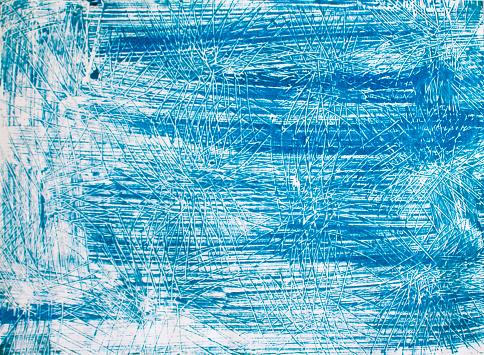 Blue vintage paper with stripe