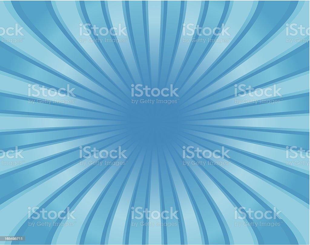 blue warp royalty-free stock vector art