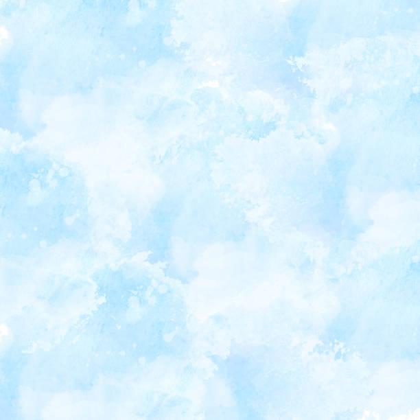 青の水彩画の背景 - 青空点のイラスト素材/クリップアート素材/マンガ素材/アイコン素材