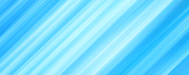 blue, white diagonal strips. abstract panoramic background with soft gradient. bright colored speed lines. textured surface. modern design for web banner, website, wallpaper, landing page, poster, certificate, gift card - kolor tła stock illustrations