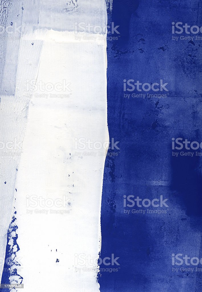 Blue white vertical vector art illustration