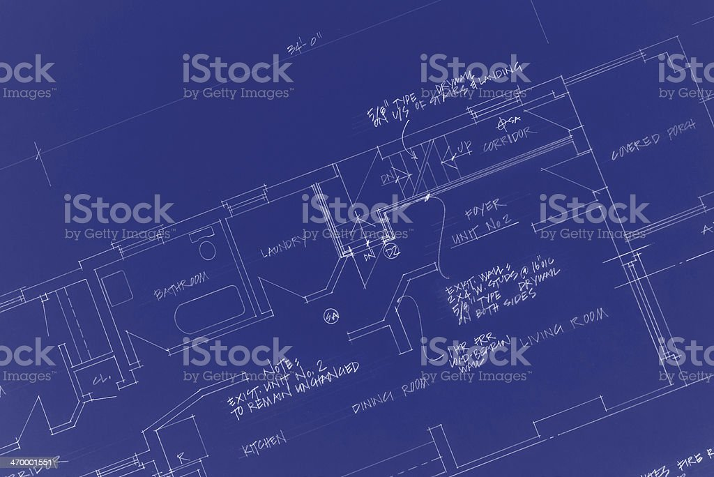 blueprints royalty-free stock vector art