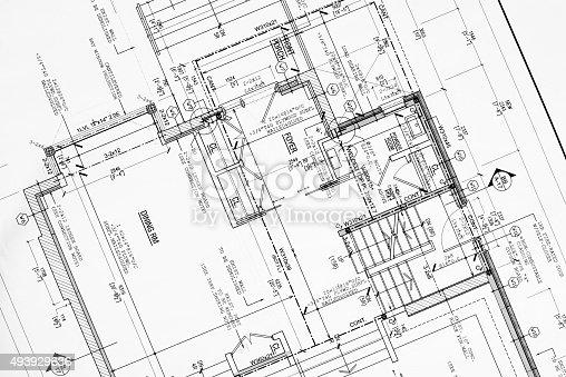 house renovation blueprint in Autocad