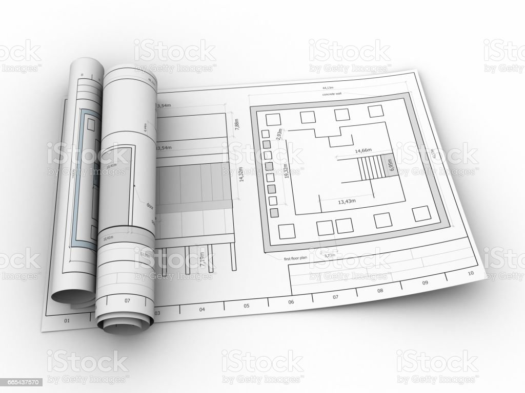 Blueprints stock vector art more images of abstract 665437570 istock blueprints royalty free blueprints stock vector art amp more images of abstract malvernweather Choice Image
