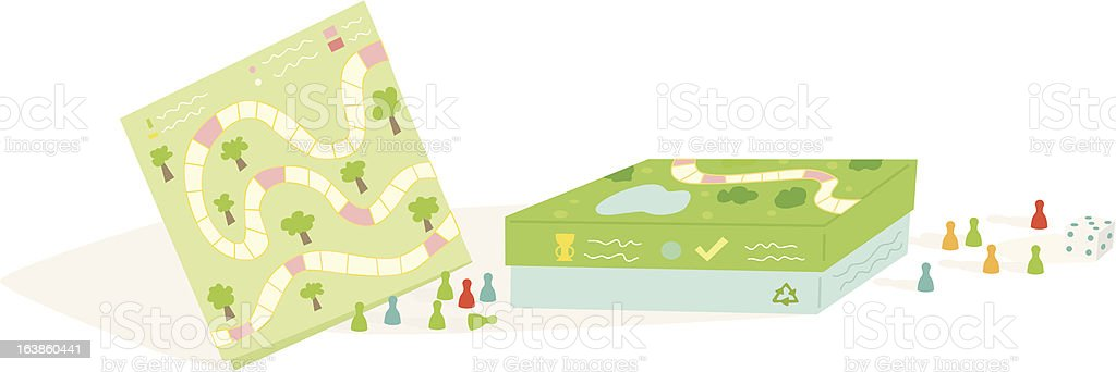 boardgame (simple) royalty-free stock vector art