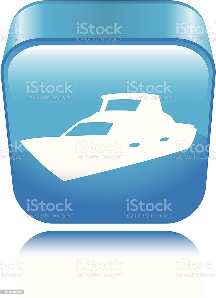 Boat Icon royalty-free stock vector art