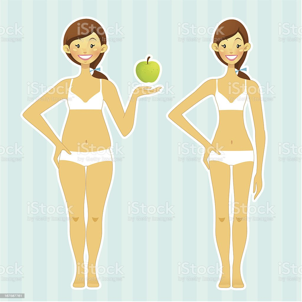 Body Transformation royalty-free body transformation stock vector art & more images of adult