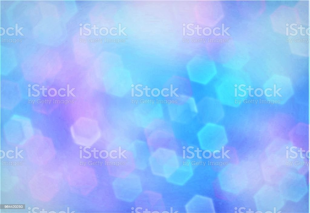 Bokeh achtergrond - Royalty-free Abstract Stockillustraties