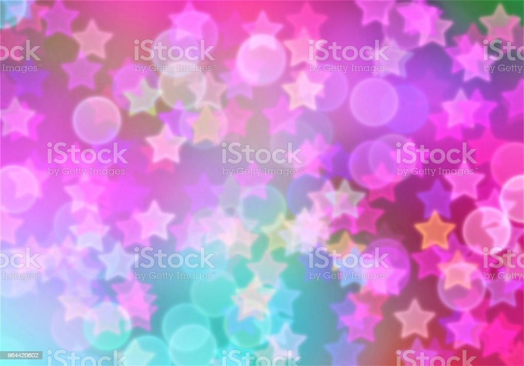 Bokeh background - Royalty-free Abstract stock illustration