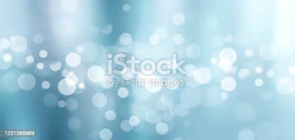 istock Bokeh Blue Gradient Background 1251388969