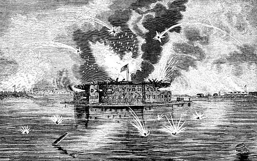 Bombardment Of Fort Sumter During The American Civil War
