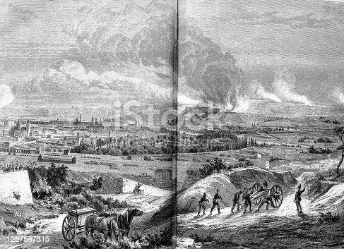 Illustration of 19th century