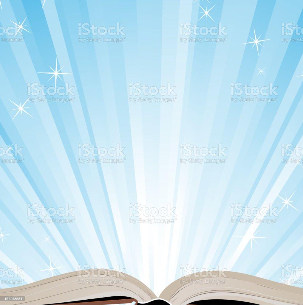 Buchen und Tageslicht – Vektorgrafik
