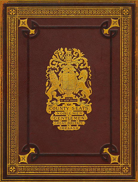 Vintage Book Cover Vector ~ Royalty free antique book cover clip art vector images