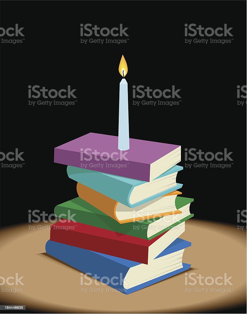 Book Light royalty-free book light stock vector art & more images of book