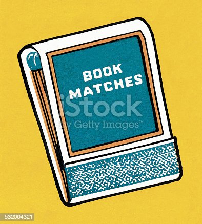 istock Book of Matches 532004321