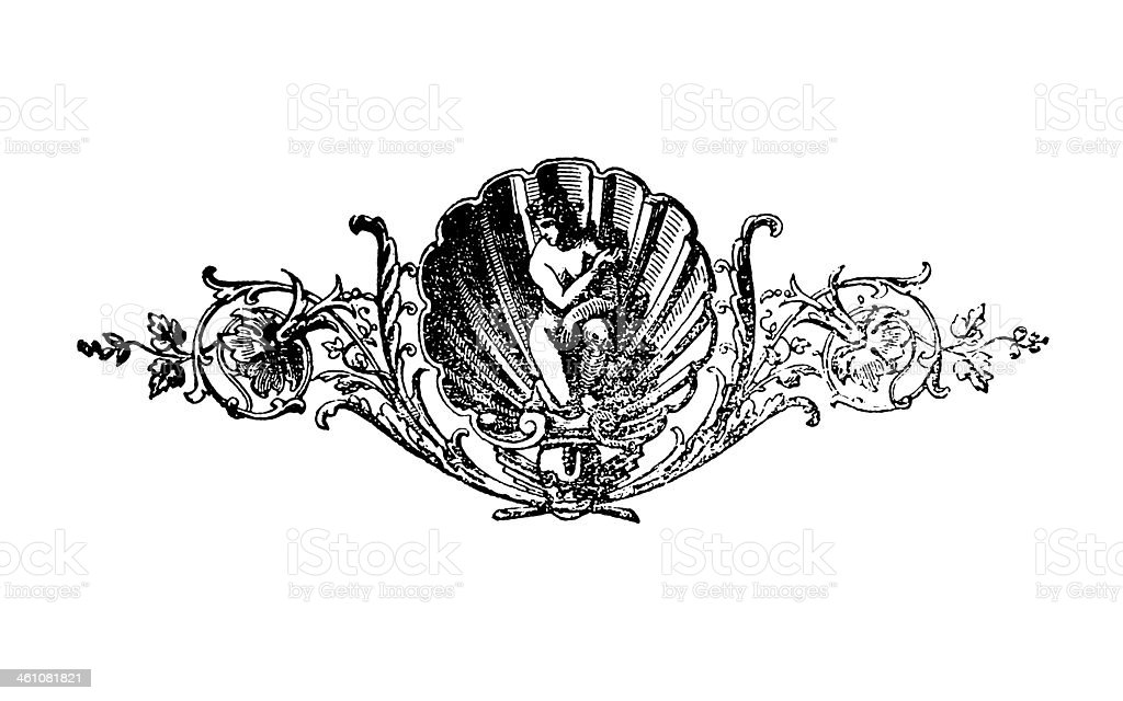 Book ornament royalty-free book ornament stock vector art & more images of 19th century style