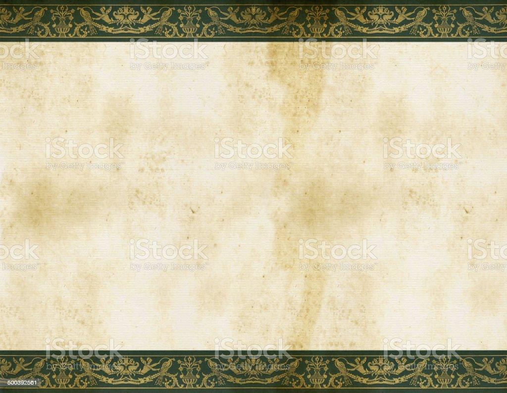 Border Italy 16th Century royalty-free stock vector art