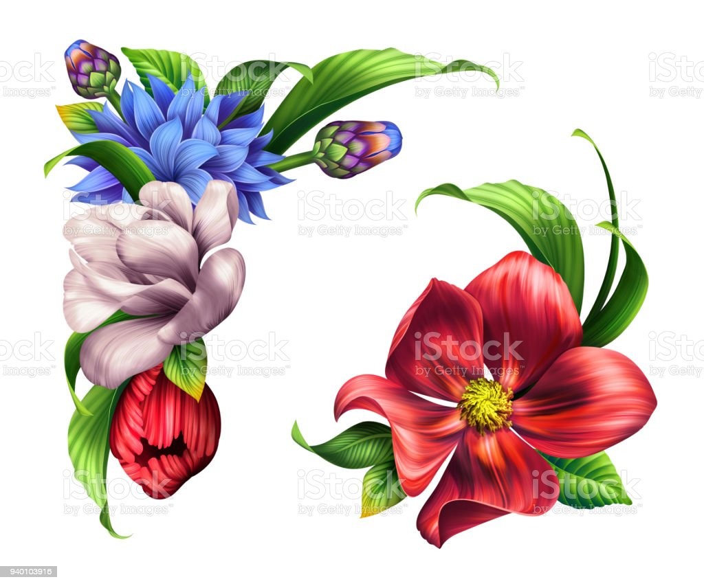 Floral Bouquet Clipart Free Awesome Graphic Library