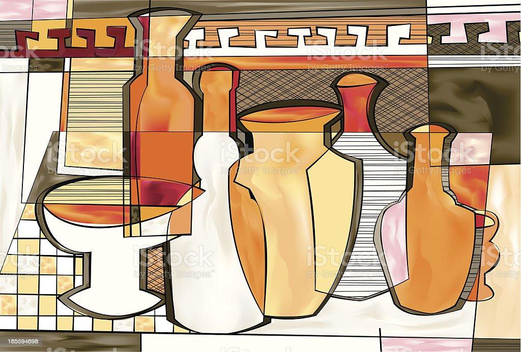 Garrafas e potes ilustração de garrafas e potes e mais banco de imagens de abstrato royalty-free