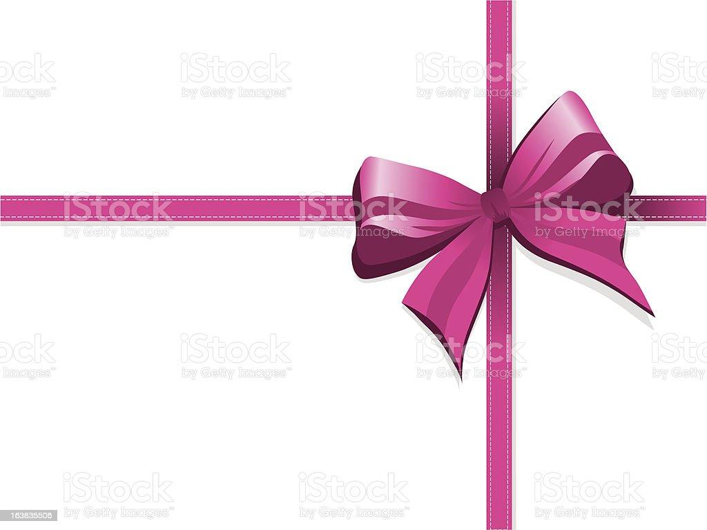 bow royalty-free stock vector art