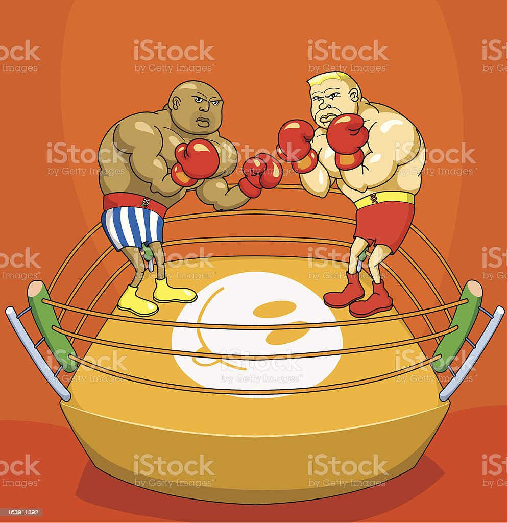 Box royalty-free box stock vector art & more images of boxing - sport