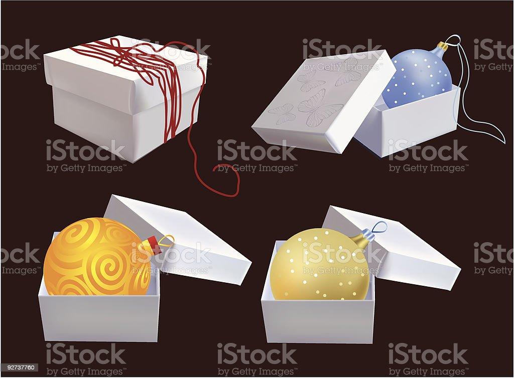 Boxen mit Geschenken Lizenzfreies boxen mit geschenken stock vektor art und mehr bilder von blase - physikalischer zustand