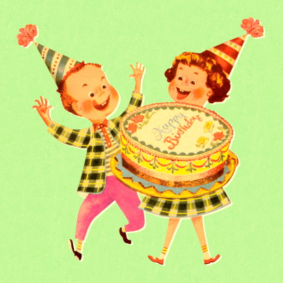 Birthday stock illustrations
