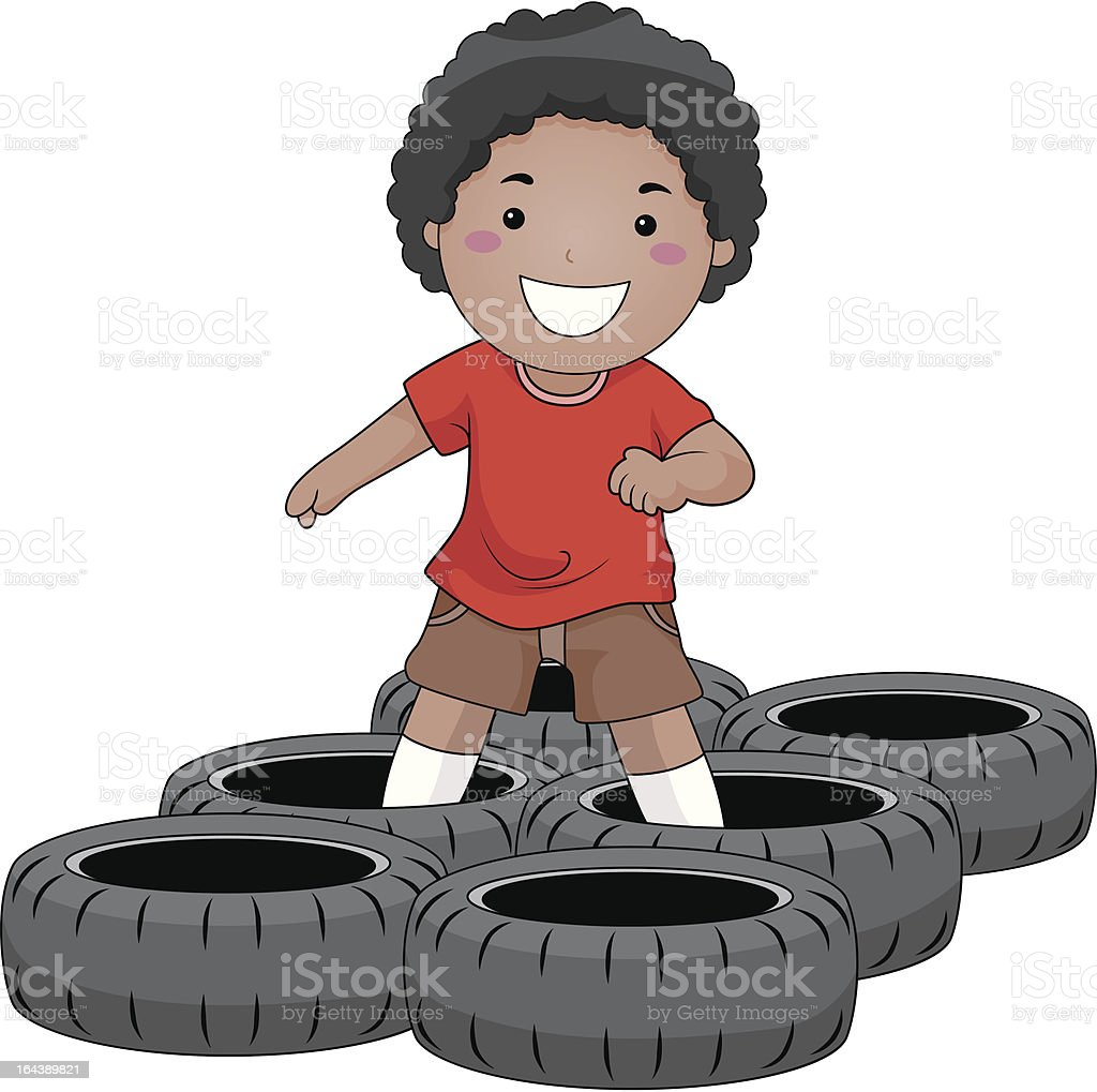 royalty free obstacle course clip art  vector images 4-H Summer Camp 4-H Summer Camp