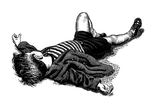 Boy Laying Down
