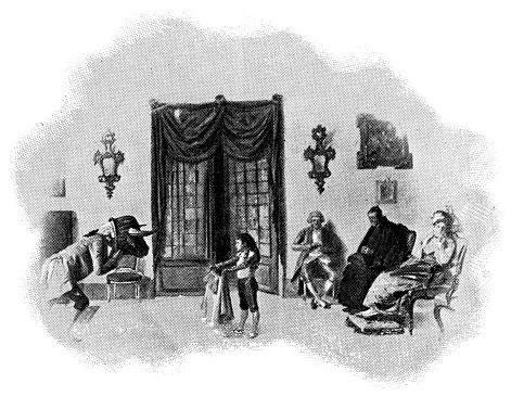 """Boy Playing """"Toro"""" Pretend Bullfighting in Madrid, Spain - 19th Century"""