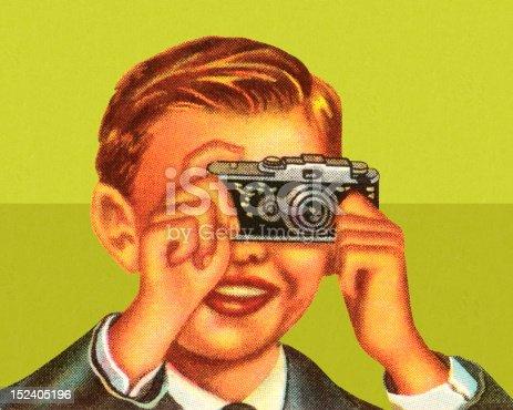 istock Boy Using Camera 152405196