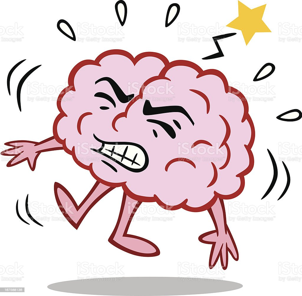 brain with stroke stock vector art amp more images of