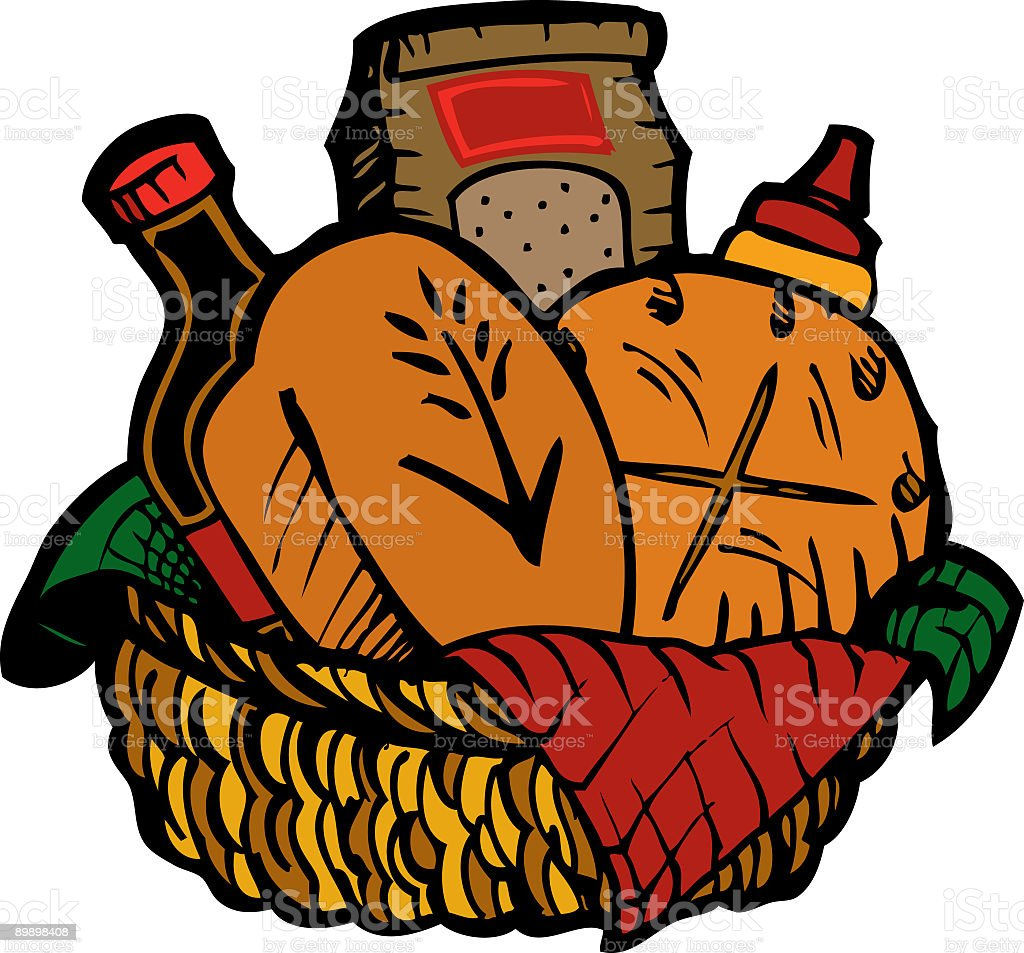 Bread Basket royalty-free bread basket stock vector art & more images of bag