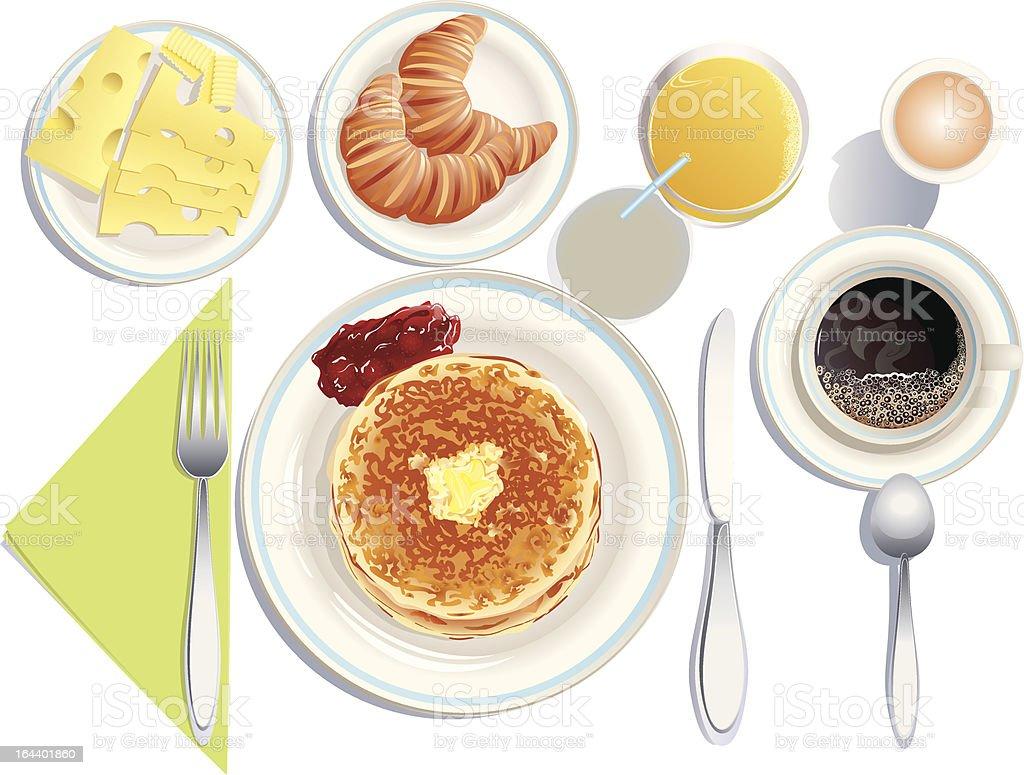 Breakfast royalty-free stock vector art