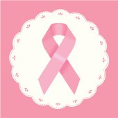 vector file of Breast Cancer Ribbon