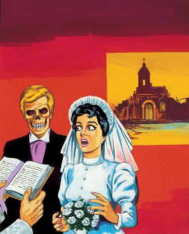 Bride Marrying Zombie Groom