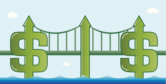 Bridge To Success Stock Illustration - Download Image Now
