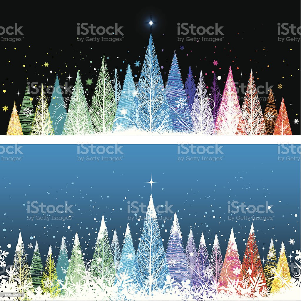 Bright christmas background royalty-free stock vector art