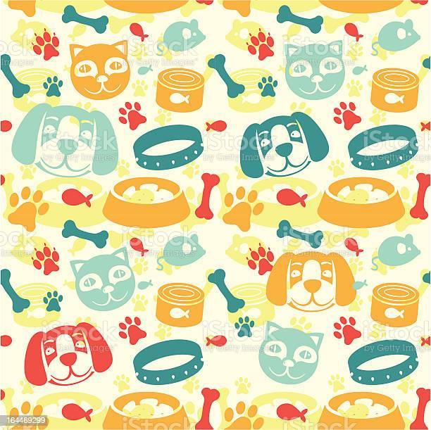 Bright seamless pattern with funny cat and dog illustration id164469299?b=1&k=6&m=164469299&s=612x612&h=of4lz0sxcul3xfxeknanr  ndcv7xw8mjamle ivtja=