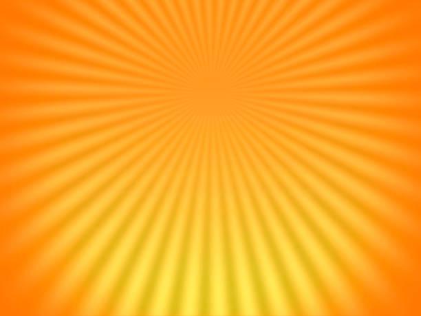 bildbanksillustrationer, clip art samt tecknat material och ikoner med starkt solljus strålande bakgrund - orange bakgrund