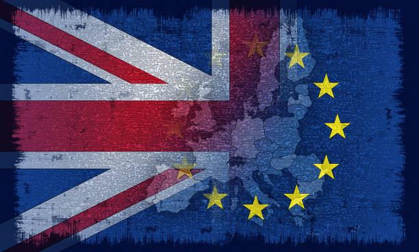 ilustraciones, imágenes clip art, dibujos animados e iconos de stock de bandera británica y europea - bandera británica