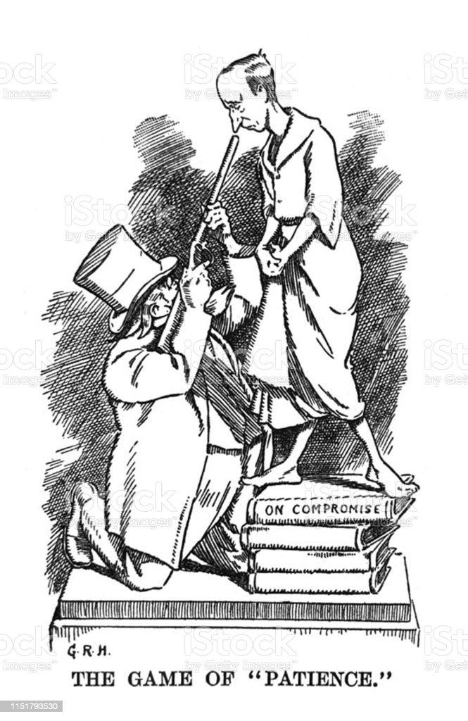 British Satire Comic Cartoon Caricatures Illustrations Design For