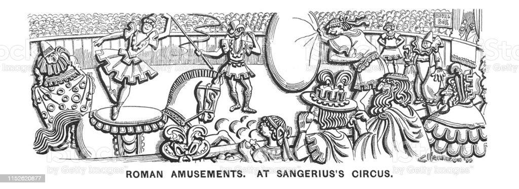 British Satire Comic Cartoon Caricatures Illustrations Roman