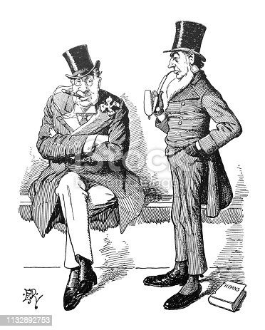 From Punch's Almanack 1899.