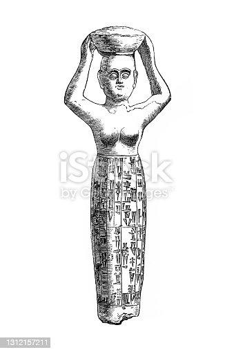 istock Bronze canephores found near Baghdad 1312157211