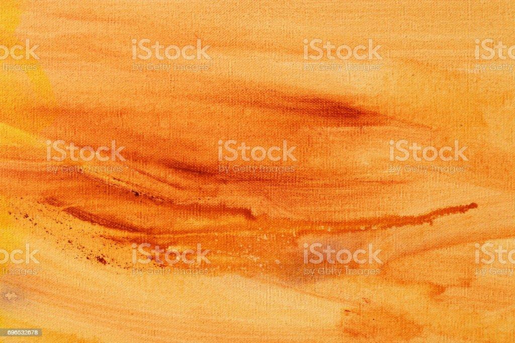 De achtergrond van de abstracte kunst van de bruine kleur acryl verf