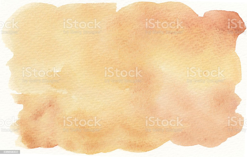brown yellow abstract watercolor background vector art illustration