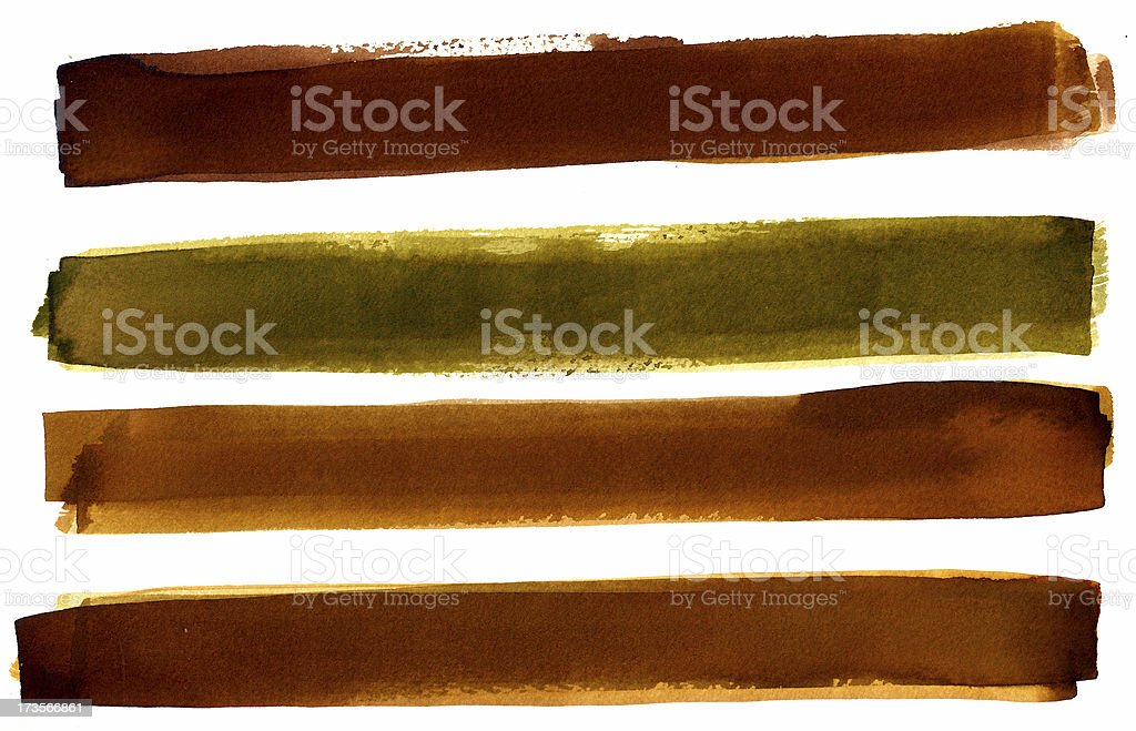 Brown/Green banners royalty-free browngreen banners stock vector art & more images of abstract