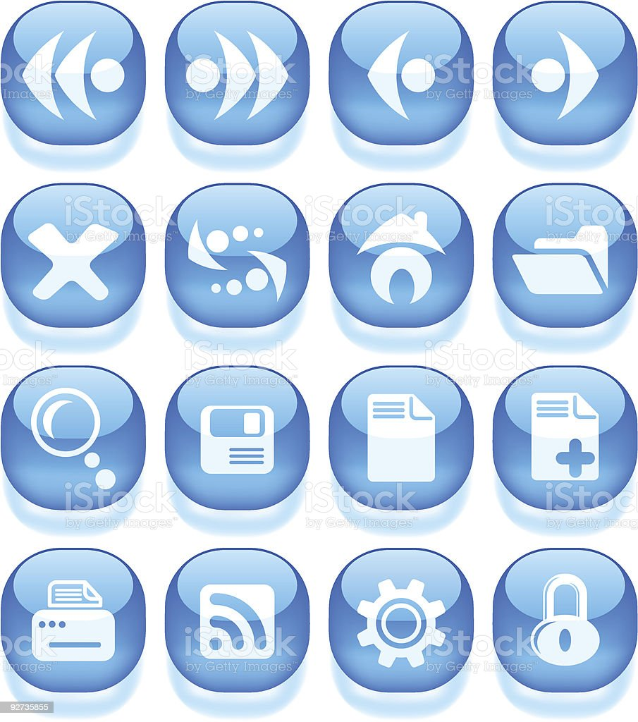 Browser icons royalty-free browser icons stock vector art & more images of accessibility